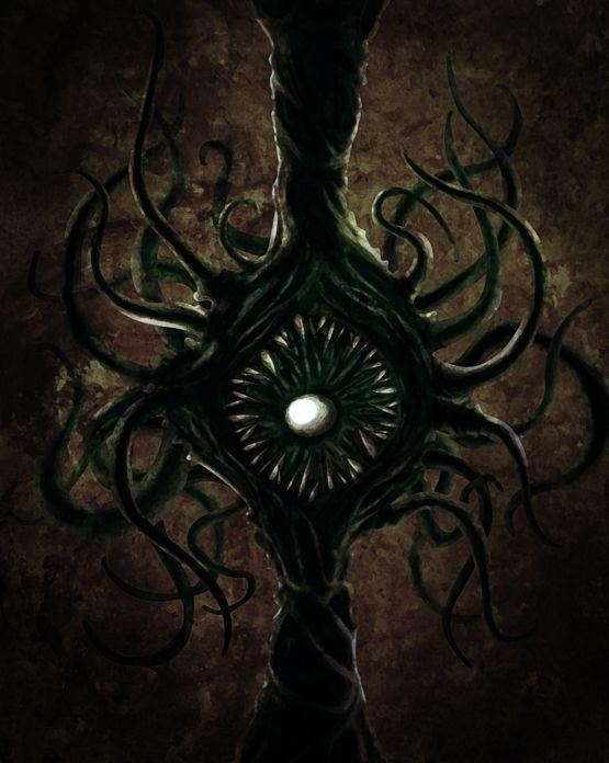 Azathoth Vs Cthulhu Azathoth on His Dark T...