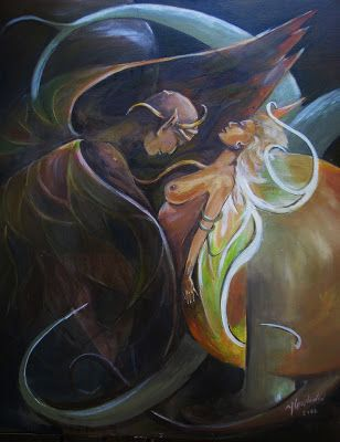 painting Joanna Wajdenfeld