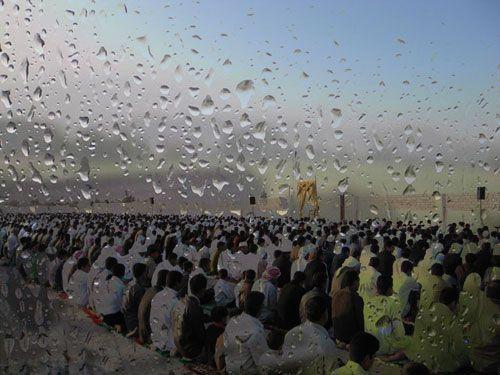 The government announced last Friday Khutba prayer to the lack of rain