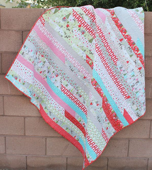 14 best Jelly Roll Quilts images on Pinterest