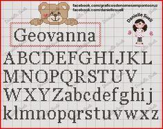 monogramas em ponto cruz - Pesquisa Google