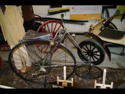 Fotos de: Dinamarca - Castillo de Egeskov - Museo - Bicicletas
