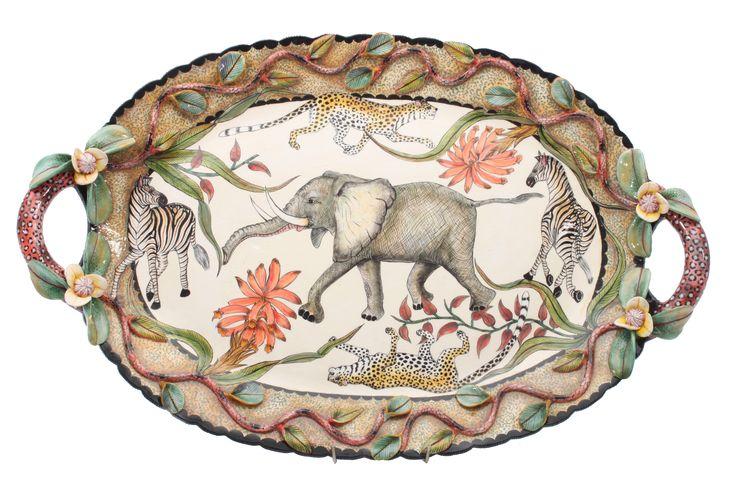Ardmore Elephant Platter