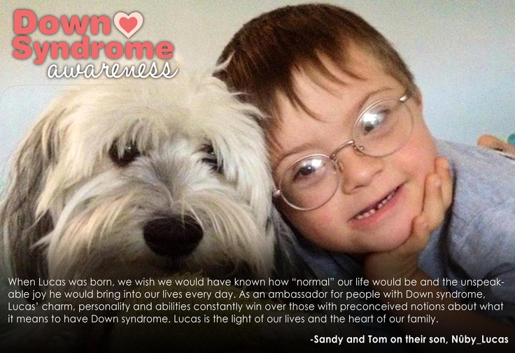 Lucas; Peace, Love & Down Syndrome @National Down Syndrome Society