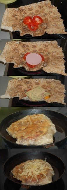 Cum de a găti o gustare fierbinte în pâine Pita - rețetă, ingrediente și fotografii
