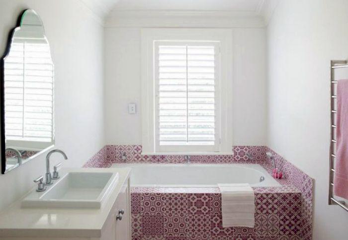 Ванная комната в марокканском стиле.
