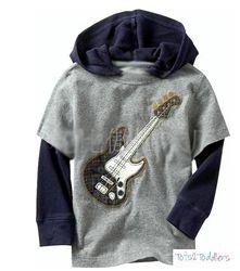 Guitar Hoodie - $10.00