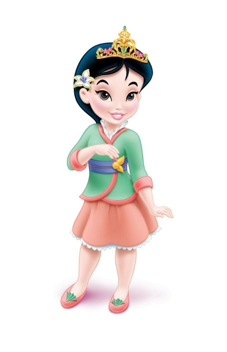 Image result for disney princess baby mulan