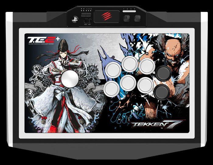 Contrôleurs Mad Catz de jeux de combat sous licence Tekken 7 - Combinant des fonctionnalités innovantes et des composants de précision de qualité supérieur avec un large éventail d'options de personnalisation par l'utilisateur, la gamme Mad Catz de FightSticks...