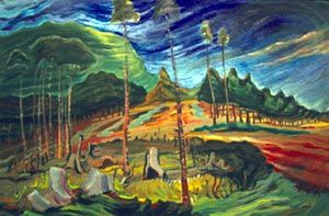 Emily Carr, Wasteland, c. 1938, oil on canvas, 102.9x98cm