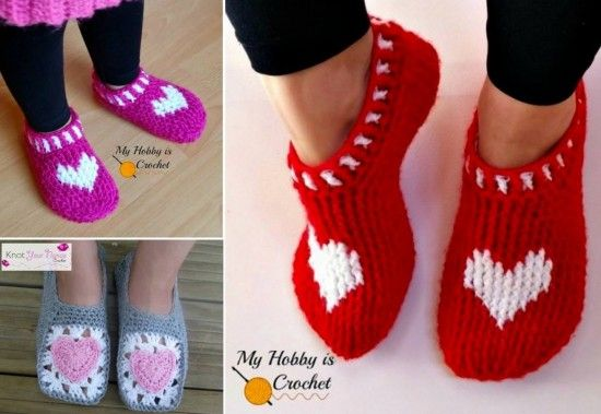 Heart Slippers | The WHOot