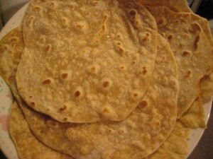 Homemade tortillas - like homemade pasta - are like another food group!  Can't wait to try these!