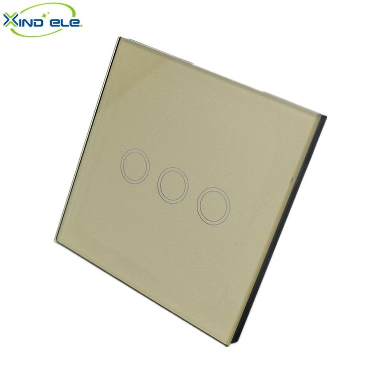 18.99$  Watch here - http://aliq08.shopchina.info/go.php?t=32723426758 - XIND ELE 3 Gang 1 ways touch wall switch europe crystal glass panel wireless light switch for smart home automation #XDTH03G#  #buyonline