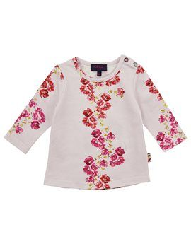 PAUL SMITH JUNIOR  Baby Girl Pink Floral Print Top  €50,00  €25,00