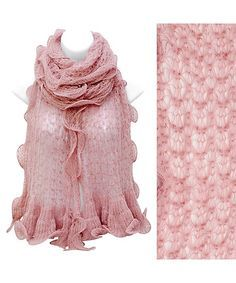 knit lace scarf - Google Search