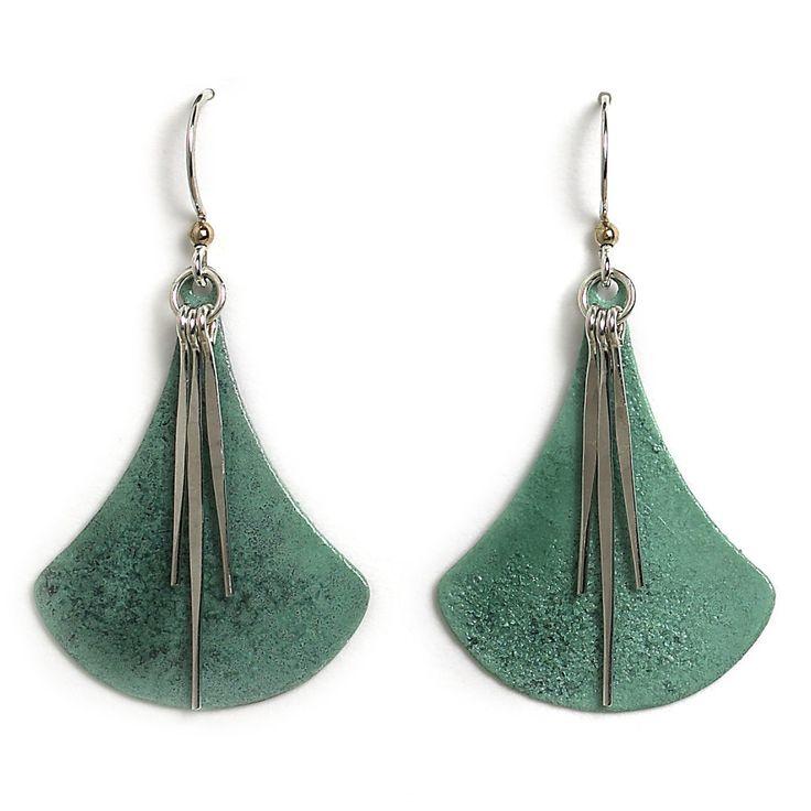 Jody Coyote Earrings From The Atlas Collection Seafoam