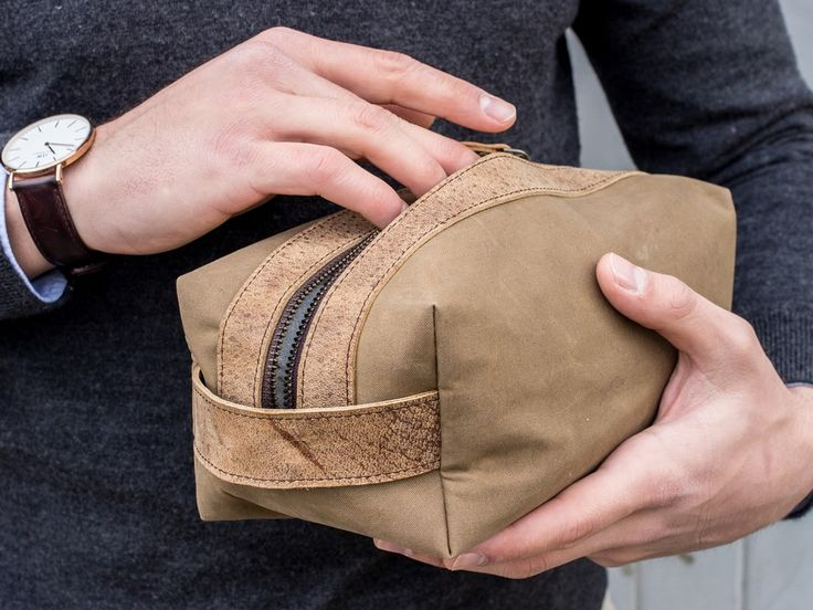 Father's Day Gifts | canvas wash bag dopp kit