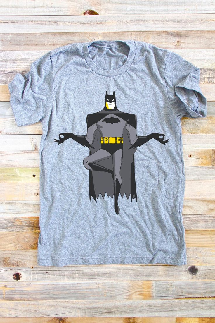 Batman Yoga Shirt
