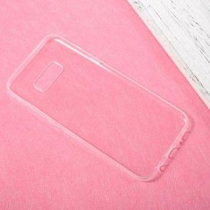 Husa SAMSUNG GALAXY S8   Carcasa Silicon Transparent, SuperSubtire