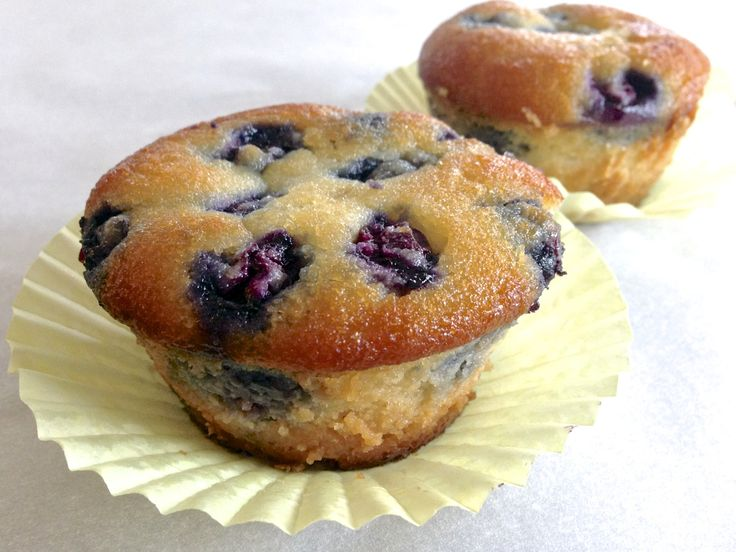 Paleo Blueberry Muffin (Grain Free, Gluten Free, Low Carb)  #LivingHealthyWithChocolate