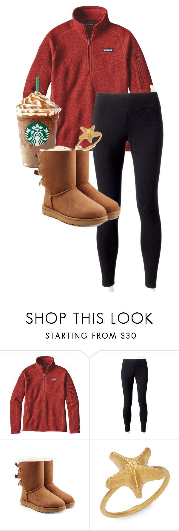 Winter Road Trip by alandra333 on Polyvore featuring Patagonia, Jockey, UGG and Valentino