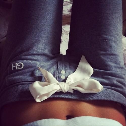 Gilly Hicks sweats, these look so cute and comfy!