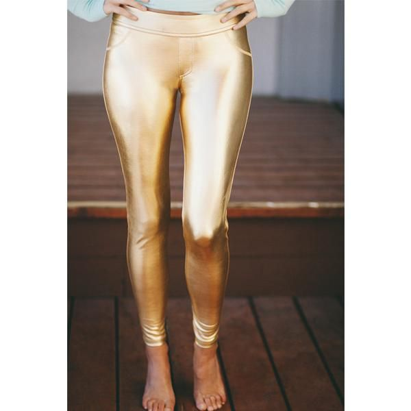Stay Gold Leggings - Albion - 2