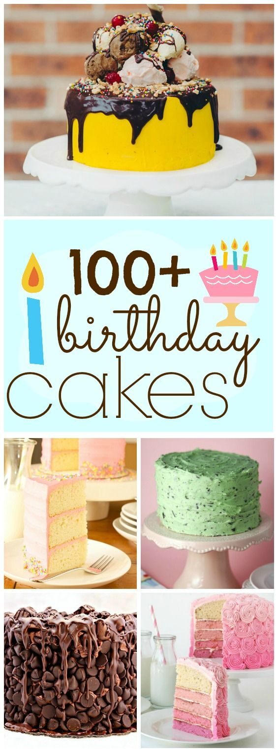 100 Impressive Birthday Cakes--Includes pictures and links to sites with recipes.