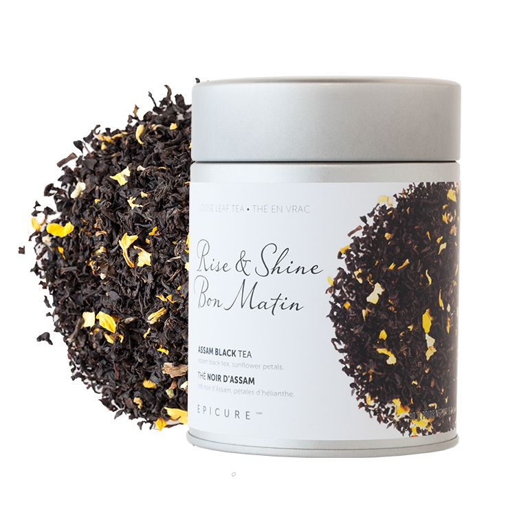 Rise & Shine Assam Black Tea: Energize your a.m. with this brisk, silky-smooth blend. (Kosher)