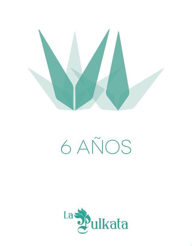 Imagen conmemorativa 6to aniversario La Pulkata #pulque #mexico #poster