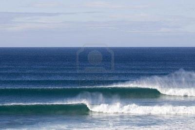 Supertubes break in Jeffreys Bay South Africa