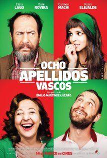 Ocho Apellidos Vascos 2014 Apellidos Vascos Carteleras De Cine Peliculas Cine