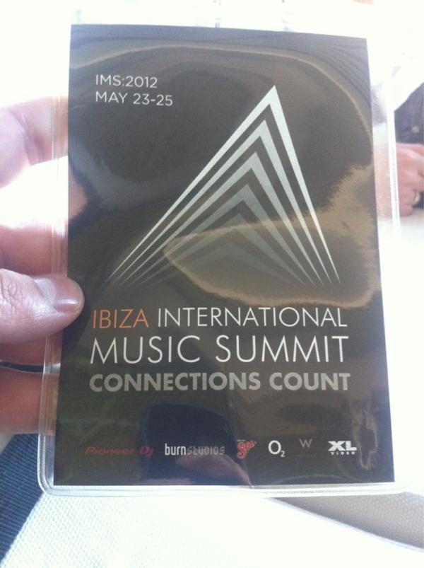 Ibiza International Music Summit.. Wahooo!!!