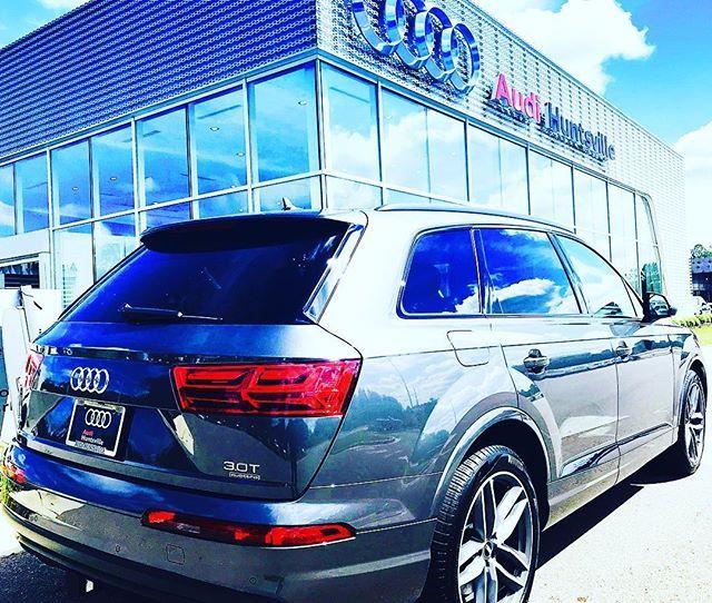 Lets Get This Week Started 2018 Audi Q7 Titanium-Black Optic