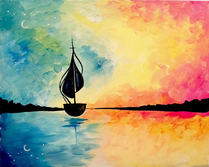 17 best images about paint nite favorites on pinterest for Mural inspiration