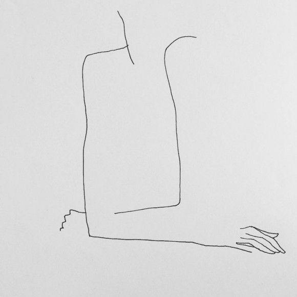 Le sensuali linee di Frédéric Forest   Collater.al