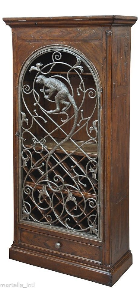 Old Wood Wine Cabinet Reclaimed Hardwood Iron Brass Monkey Door New Free shippin & En iyi 17 fikir Door Monkey Pinterestu0027te pezcame.com