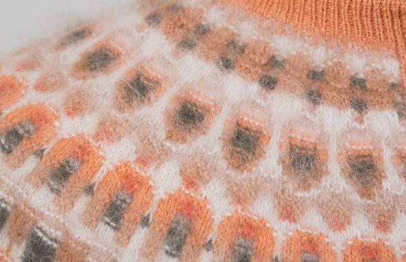 Bohus knit design from Digitalt Museum, Kofta