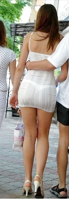 skin tight see through skirt