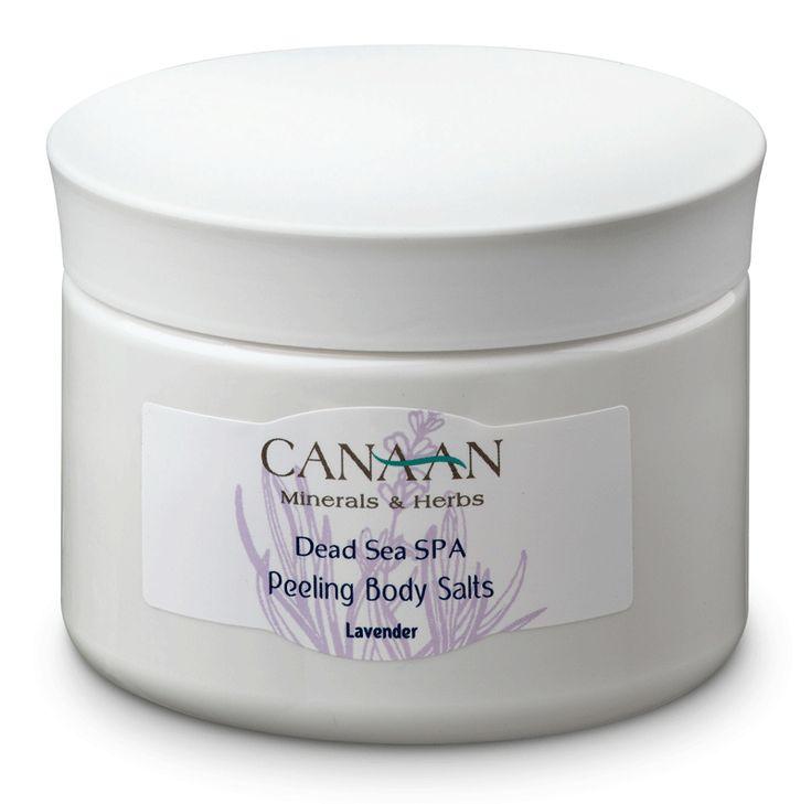 Canaan Peeling Body Salts, Dead Sea Cosmetics