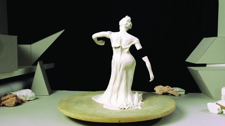 "Venus de Milo in my music video""Sculpture of a Day""( music: Renata Przemyk)"