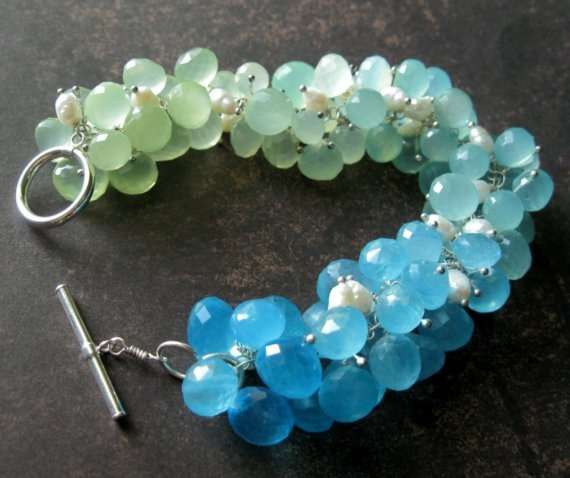 ocean-toned bracelet