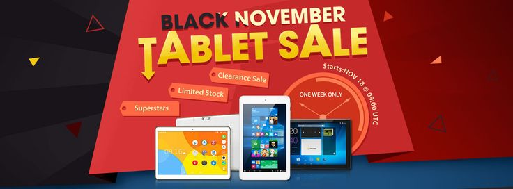 Black November Tablet Sale from Everbuying - Mobiles-Coupons