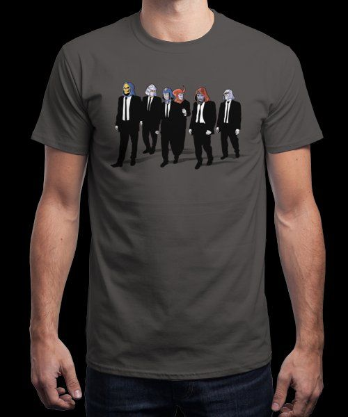 """Reservoir Foes"" is today's £8/€10/$12 tee for 24 hours only on www.Qwertee.com Pin this for a chance to win a FREE TEE this weekend. Follow us on pinterest.com/qwertee for a second! Thanks:)"