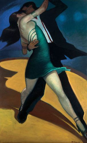 Whether it's out on some back patio or... http://www.easyart.com/art-prints/Bill-Brauer/At-the-China-Club-157056.html