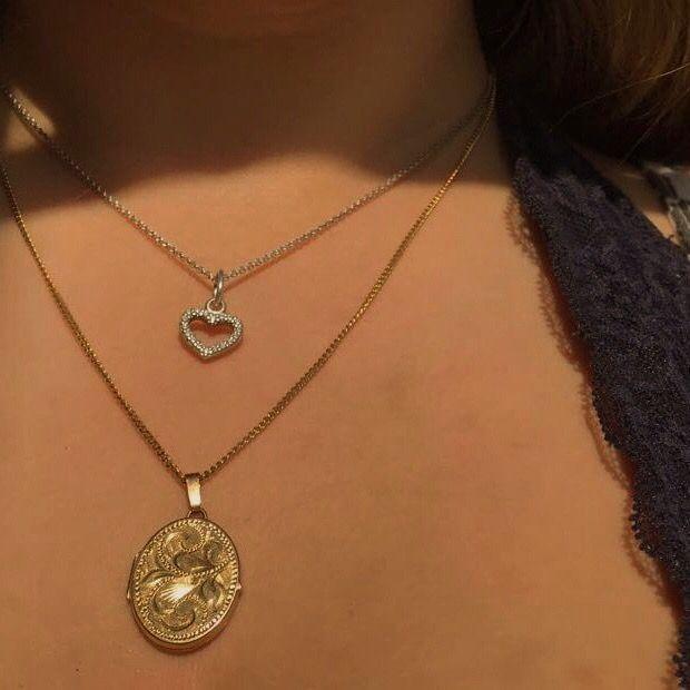Follow Insta Ella Calver Vintage Necklace Aesthetic Jewelry Fashion Necklace Vintage Necklace Necklace