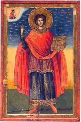 St Panteleimon icon