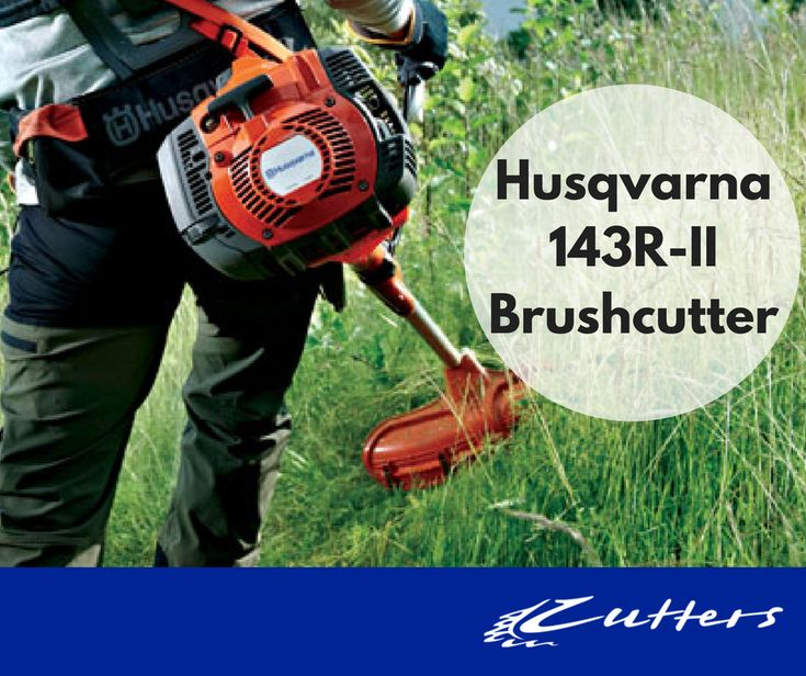 Husqvarna 143R-II is a rugged brushcutter designed for tough use. The handle bar has an assymetrical design which leads to better working position. Delivered with double harness.