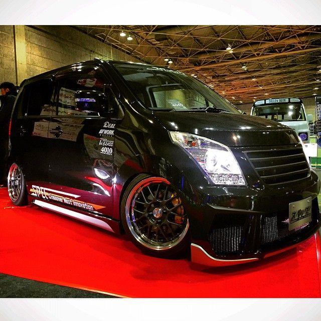 Suzuki Wagon-R on WORK Meister M1R.  #workwheels #workwheel #workwheelsjapan #suzukiwagonr #workmeister #keicar #660