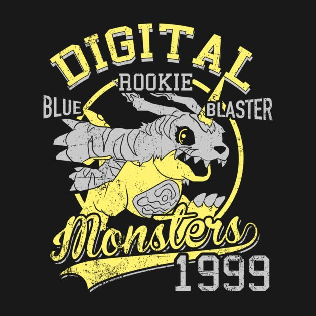 BLUE BLASTER T-Shirt $12.99 Digimon tee at Pop Up Tee!